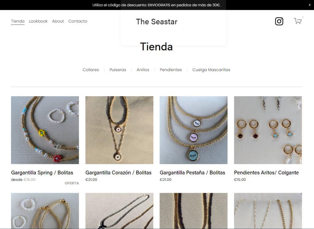 tienda online the-seastar